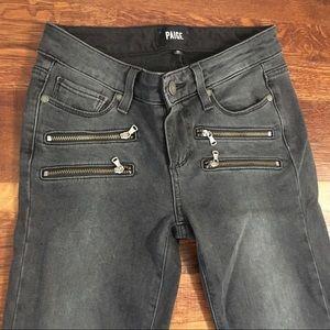 Paige Edgemont Ankle Skinny Jeans